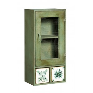Meat Safe 2 x Drawer Green